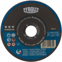 "4-1/2"" x .040"" x 7/8"" A60Q-BFKA Type1 2-in-1 Ultra-Thin Cutting Disc (Max RPM: 13,300)"