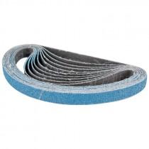 "1/2"" x 18"" 100# Zirconium X-WT C/C Sanding Belt - XZ677"