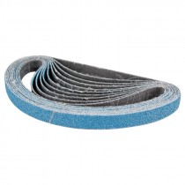 "1/2"" x 24"" 80# Zirconium X-WT C/C Sanding Belt - XZ677"