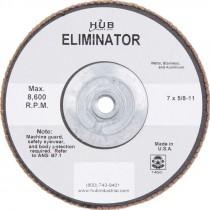 7 X 5/8-11 80# T29 Zirconium Flap Disc