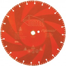 14 IN X .125 IN  X 1-20MM DIAMOND BLADE RESCUE METAL CUTTING BLADE