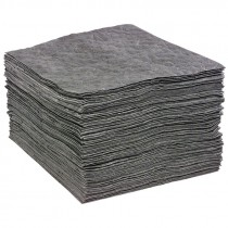 "15"" x 19"" Universal Multi-Laminate Sorbent Pads, Heavy Weight (100 Pads per Bale)"