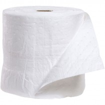 "15"" x 150' Oil Only Sonic Bonded Sorbent Roll, Medium Weight"