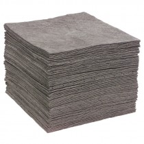"15"" x 19"" Universal Sonic Bonded Sorbent Pads, Heavy Weight"