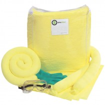 Hazmat Trucker Spill Kit in Vinyl Zipper Bag