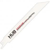 """6"""" x 3/4"""" x .050"""" 10/14T Premium Bi-metal Blade"""