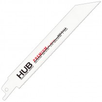 "6"" x 3/4"" x .050 14T Premium Bi-Metal Reciprocating Blade"