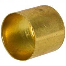 "0.875 ID. x 7/8"" Length Brass Air Hose Ferrule"
