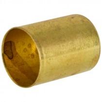 "0.687 ID. x 1"" Length Brass Air Hose Ferrule"