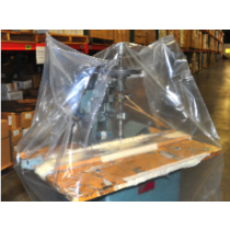 """42"""" x 32"""" x 54"""" 2 Mil Clear Pallet Cover"""