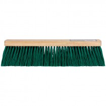 "24"" Stiff Green Flexsweep Broom Head"
