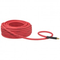 "3/8"" X 100' #250 Rubber Air Hose with 1/4"" MPT Ends"