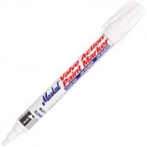 White Markal® Valve Action® Paint Marker