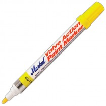 Yellow Markal® Valve Action® Paint Marker