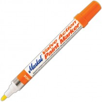 Orange Markal® Valve Action® Paint Marker