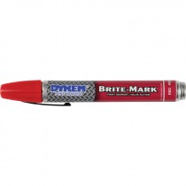 Red Dykem® Brite-Mark® 40 Medium Point Felt Tip Marker