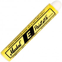 Markal® E Paintstik High Visibility Solid Paint Markers - White