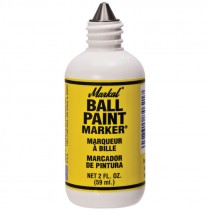 White BPM Ball Paint Marker