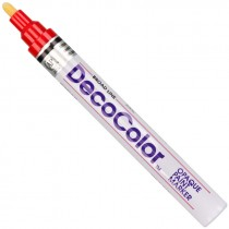 Deco Red Broadline  Valve Action Paint Marker