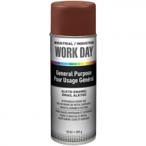 Work Day™ General Purpose Enamel Spray Paint - Brown