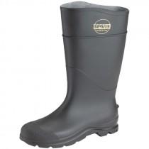 Steel Toe Rubber Boot, Size 8