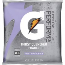 Gatorade® 2-1/2 Gal. Powder Mix - Riptide Rush (Sold  in Boxes of 32)