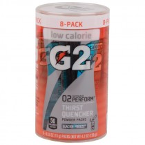 Gatorade G2 Powder Packs - Case of 64, Glacier Freeze