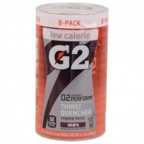 Gatorade G2 Powder Packs - Case of 64, Grape
