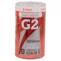 Gatorade G2 Powder Packs - Case of 64, Fruit Punch