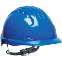 #6121 Blue Slip Ratchet Hard Hat