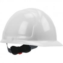 4200 Hard Hat, 4-Point Wheel Ratchet Suspension, White