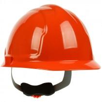 Hard Hat, 4-Point Wheel Ratchet Suspension, Hi-Vis Orange