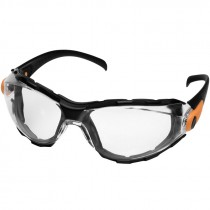 Go-Specs™ Foam-Lined Safety Goggles, Clear Lens, Anti-Scratch/Anti-Fog