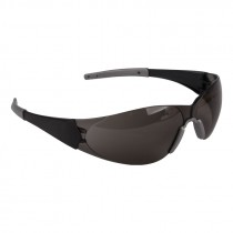 Doberman™ Safety Glasses, Smoke Lens - Anti-Scratch Coating