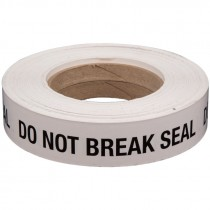 Do Not Break Seal Label