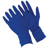 "13 Mil 12"" Industrial Grade Powdered Latex Gloves, Medium"