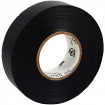 "3/4"" x 20 Yards Black Electrical Tape, 7.0 Mil"