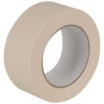 "1"" x 60 Yd Cream Colored Masking Tape"