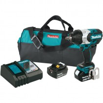 "Makita® 18V LXT® Lithium Ion Brushless Cordless High Torque 1/2"" Sq. Drive Impact Wrench Kit"
