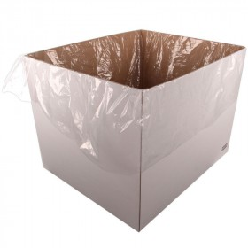 """3.0 Mil Pallet Cover / Gaylord Liner for Pallet Size 48"""" x 48"""" x 72"""" (Roll of 50)"""