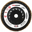 Ceramic Flap Discs | HUB ProGrind® Trimmable Series™