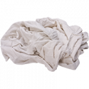 Reclaimed White Knit Rags