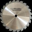 Nail Shredder Technology® Circular Blades