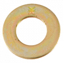 Grade 8 Zinc Yellow Plated Flat Washers