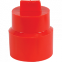 Red Splined Transmission Tailshaft Cap Plug