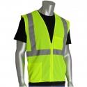 Class 2 Economy Safety Vest, Mesh, Zipper Closure