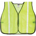 Non-Rated Safety Vest, Mesh, Hook & Loop Closure