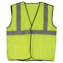 Class 2 5-Point Break-Away Safety Vest - Adjust-A-Size, Mesh, Hook & Loop Closure