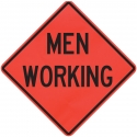 Road Work Traffic Signs