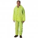 3-Piece Premium Rainsuit, Hi-Vis Yellow